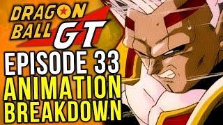 SSJ3 Goku vs Baby! Episode 33 Animation Breakdown - Dragon Ball GT