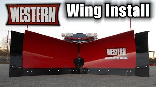 Western MVP3 with Wings Install