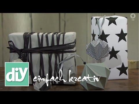 Diamanten aus Papier | DIY einfach kreativ