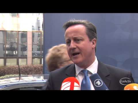 Cameron: EU-Greece 'standoff' affects UK's economy