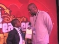 Damon Weaver interviews Nike's D'Wayne Edwards at the 2010 Disney Dreamer's Academy