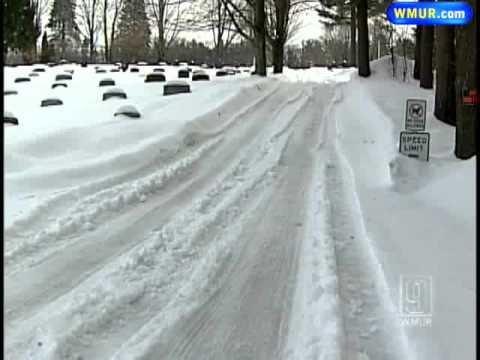 Cemetery Stops Burials Because Of Snow