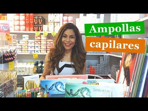 Ampollas Capilares para el cuidado del cabello por Gina Rojas