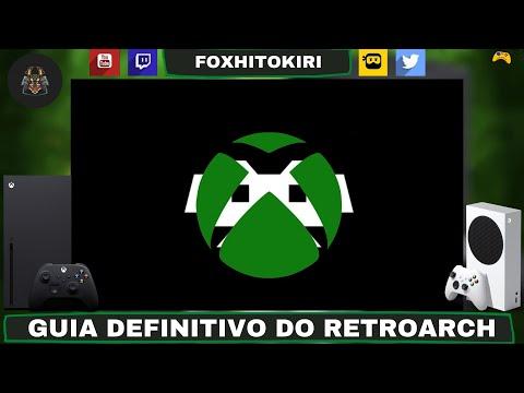 Instalação e configurações do Retroarch Retail no Xbox One e Series (2021)