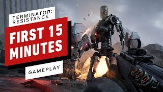 The First 15 Minutes of Terminator: Resistance Gameplay