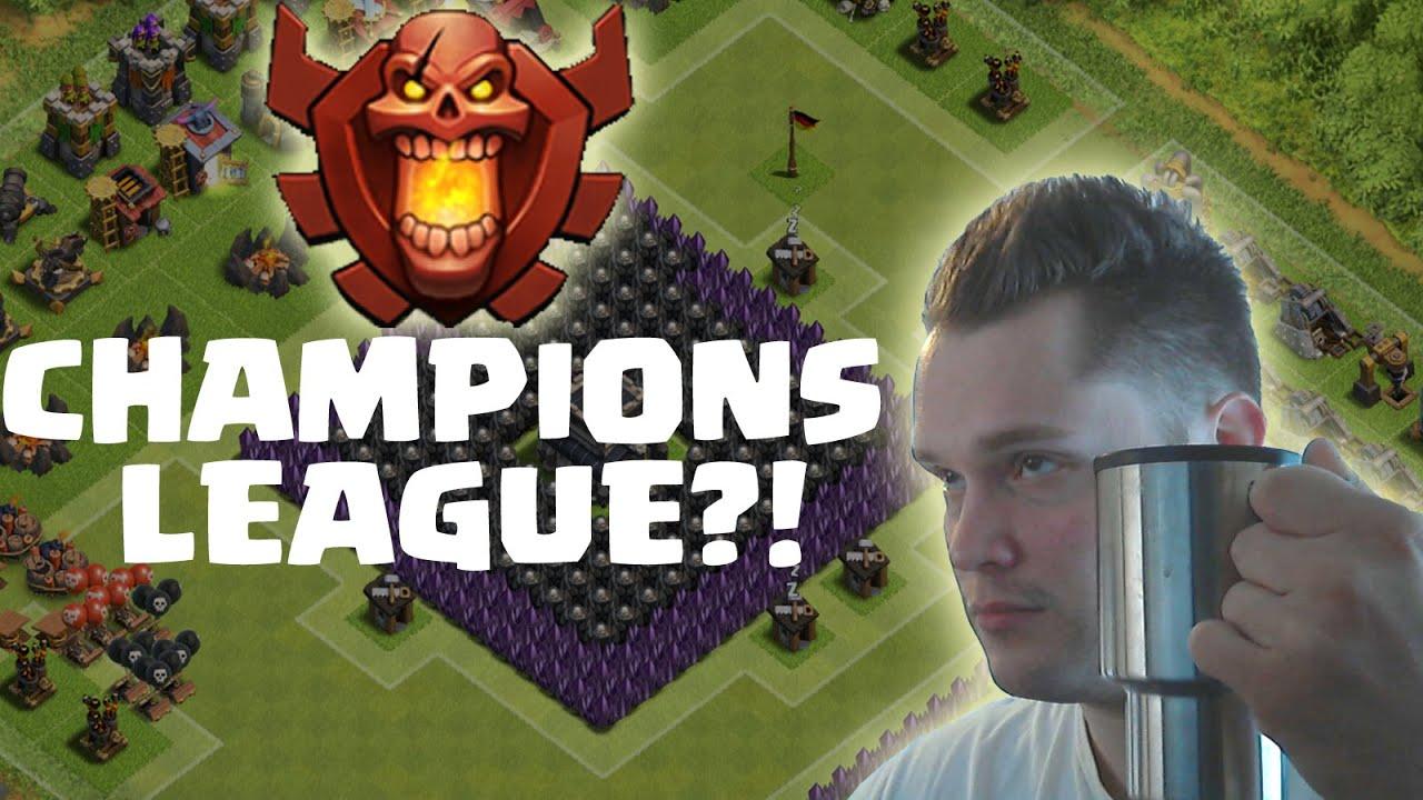 [facecam] CHAMPIONS LEAGUE?! || CLASH OF CLANS || Let's ...