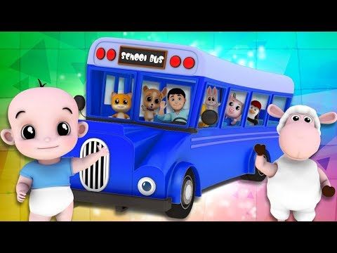 Junior Squad Wheels On The Bus | Bus Song | Nursery Rhymes | Kids Song | Children Rhyme