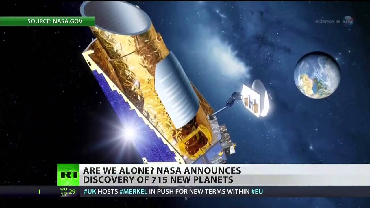 NASA on Wednesday announced the discovery of 715 new planets by far the biggest batch of planets ever unveiled at once