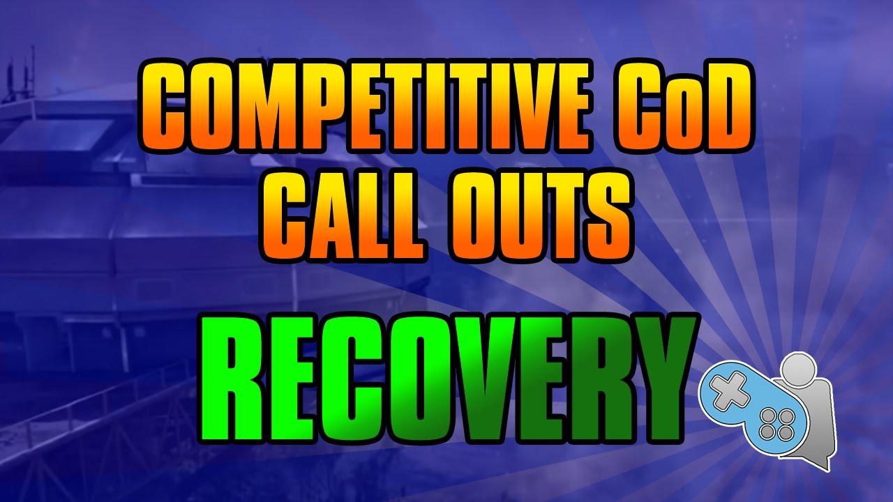 Recovery Advanced Warfare Advanced Warfare Callouts