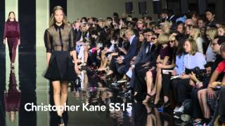 Christopher Kane SS15 at London Fashion Week