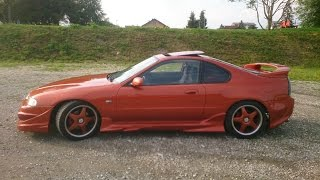 Honda Prelude 2.3 i - Dual Exhaust sounds good