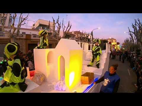 Cabalgata de Reyes 2019 Mataró, Barcelona