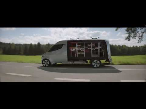 Mercedes-Benz Vision Van Trailer | AutoMotoTV
