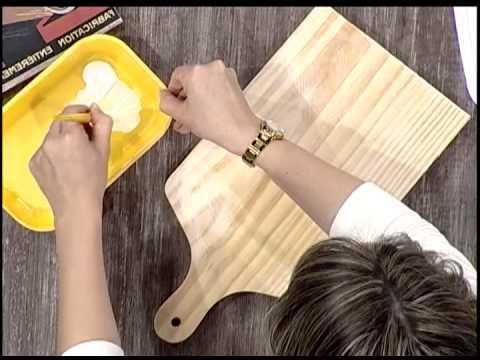 Nuestro encuentro manualidades tabla de madera del d a - Bolas de madera para manualidades ...