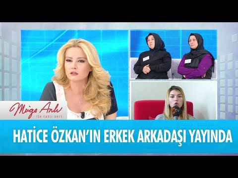 Hatice Özkan'ın erkek arkadaşı canlı yayına bağlandı - Müge Anlı İle Tatlı Sert 7 Kasım