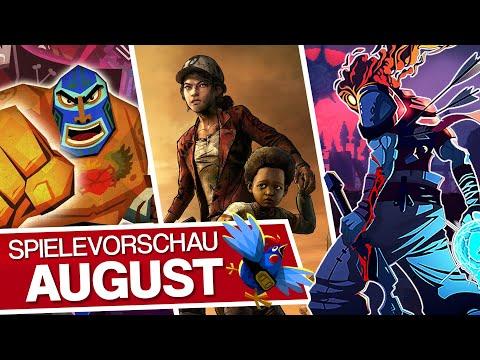 Neue Spiele im August: Es gibt wieder was zum Zocken!
