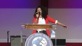 Ayda Abraham Amazing Worship In Atlanta - Women's conference 2016