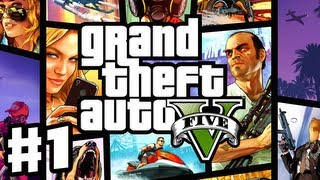 Grand Theft Auto 5 - Gameplay Walkthrough Part 1 - Prologue (GTA 5, Xbox 360, PS3)