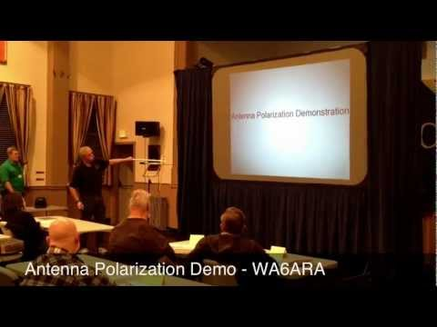 WA6ARA - Antenna Polarization demo
