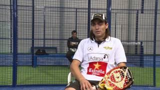 Entrevista a Juani Mieres en Blupadel