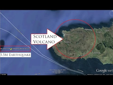10/09/2014 -- DORMANT VOLCANO in Scotland has 5.5M earthquake -- Censored by USGS + BGS