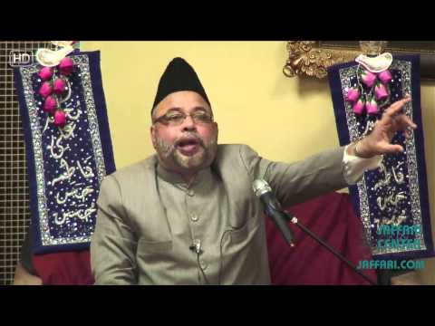 Maulana Sadiq Hasan Mehfil 3 1434 Wiladat Bibi Fatema Zehra (S.A)