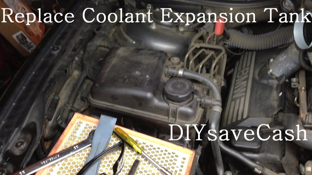Bmw E65 E66 How To Replace Install A New Coolant Expansion Tank Youtube