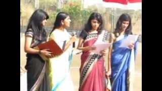 Farewell speech - - Girls of std 10, VVS 2012-2013