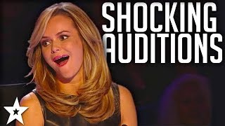TOP 5 MOST SHOCKING Auditions on Got Talent | Got Talent Global