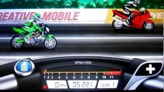 Drag Racing Bike Edition: How To Tune A Level 5 Shiver GT 5.221s 1/8 mile!