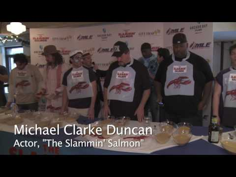 The Slammin' Salmon Chowder Eating Contest - 24 pounds of chowder consumed!