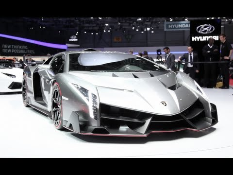 2014 Lamborghini Veneno - 2013 Geneva Motorshow
