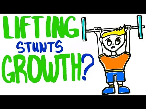 Will Lifting Weights Stunt Your Growth?