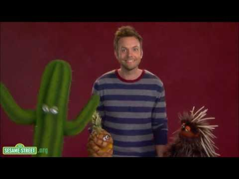 Thumbnail of video Sesame Street: Joel McHale demonstrates the word