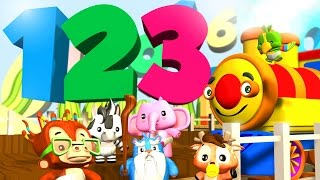 Numbers Song | One to Ten | Educational Songs for Kids by Little Treehouse
