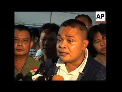 WRAP Pro-govt demo, PM announces election date, more red shirts