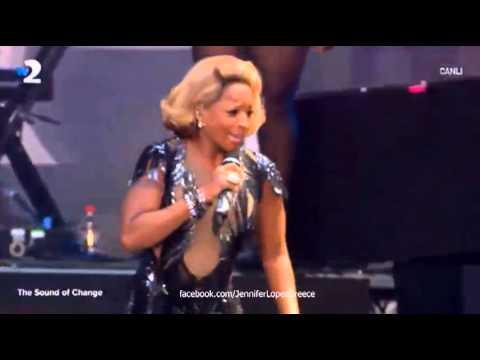 Jennifer Lopez ft. Mary J. Blige – Come Together – The Sound of Change Live