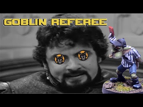 How to paint a Bloodbowl Goblin Referee - Kujo Painting [Tutorial]