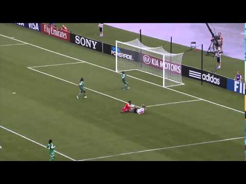 ★Women Soccer U20 World Cup FINAL Full Match HIGHLIGHTS | Nigeria vs Germany 0:1 | 25.08.2014★