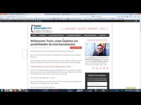 Cómo añadir un sitio nuevo en webmaster tools