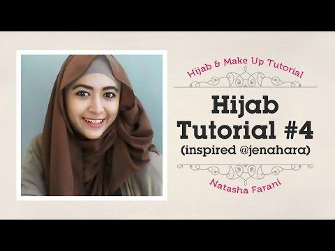 Hijab Tutorial - Natasha Farani (Inspired @jenahara) #4