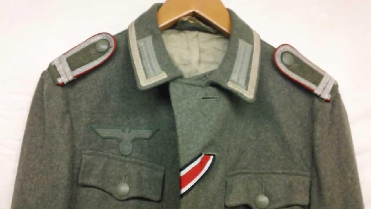Ww2 Combat Uniforms Ww2 German M43 Tunic Uniform