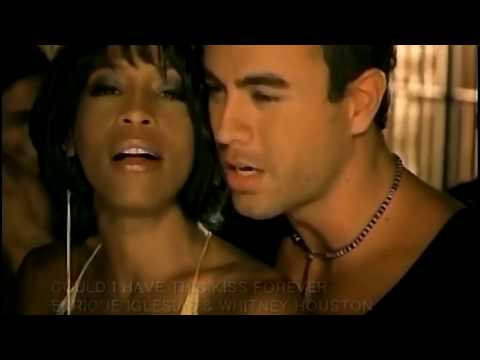 Enrique Iglesias ft Whitney Houston - Could I Have This Kiss Forever [1080pHD]