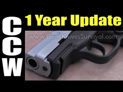 CCW / Concealed Carry: 1 Year Update