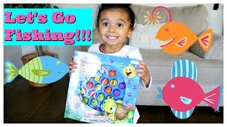 LETS GO FISHING GAME 2018 FAMILY REIVEW