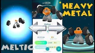 Pokemon Go - Shiny Melmetal Evolution
