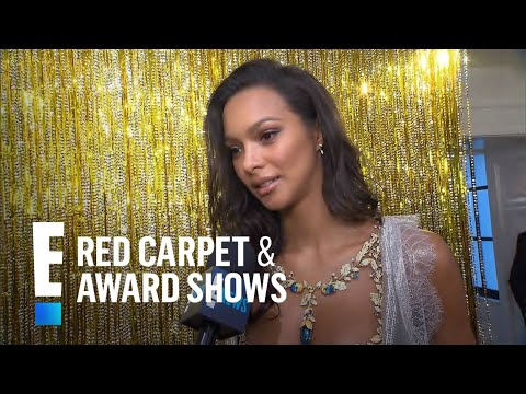 Lais Ribeiro Shows Off $2 Million VS Fantasy Bra | E! Live from the Red Carpet