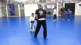 Dennis Hisardut kids training in Israel.
