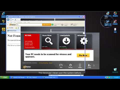 Norton Internet Security 2014 (Modified settings) - Test with more links