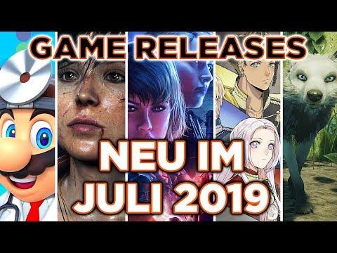 Game Releases - Neue Spiele im Juli 2019